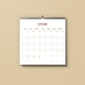 Calendario SETIEMBRE